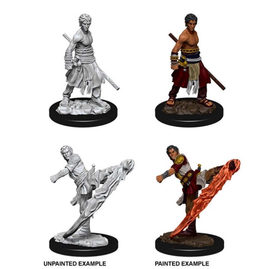 Nolzurs Marvelous Miniatures - Male Half-Elf Monk