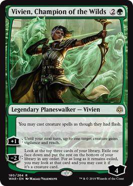 Vivien, Champion of the Wilds - Foil