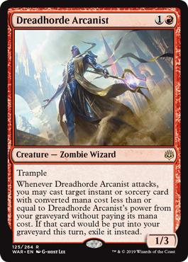 Dreadhorde Arcanist - Foil