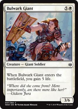 Bulwark Giant - Foil