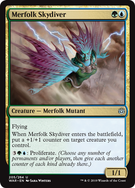 Merfolk Skydiver