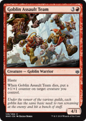 Goblin Assault Team - Foil