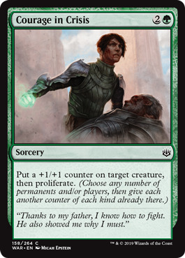 Courage in Crisis - Foil