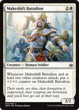 Makeshift Battalion - Foil