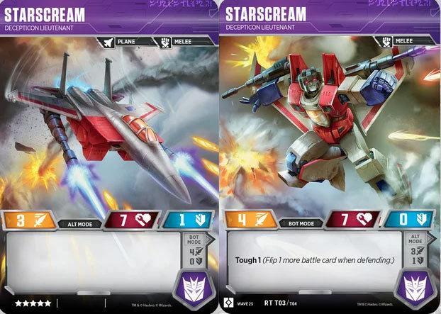 Starscream - Decepticon Lieutenant
