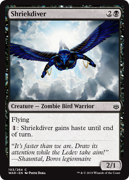 Shriekdiver - Foil