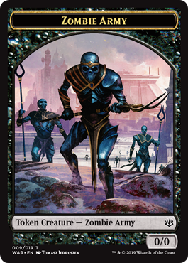 Zombie Army Token (009)