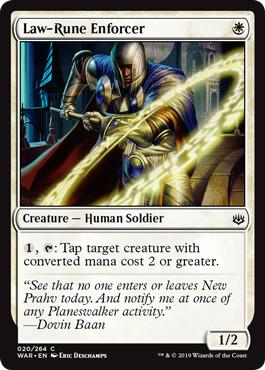 Law-Rune Enforcer - Foil