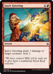 Jaya's Greeting - Foil