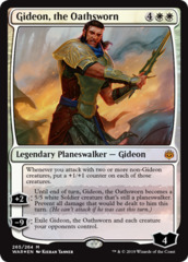Gideon, the Oathsworn - Foil Planeswalker Deck Exclusive