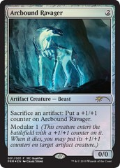 Arcbound Ravager (MC Qualifier) - Foil