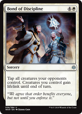 Bond of Discipline - Foil