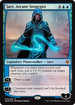Jace, Arcane Strategist - Foil Planeswalker Deck Exclusive