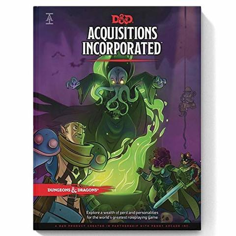 Dungeons & Dragons RPG - Acquisitions Incorporated (5th Edition)