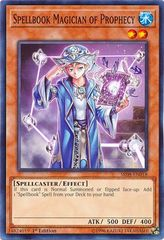 Spellbook Magician of Prophecy - SR08-EN018 - Common - 1st Edition on Channel Fireball
