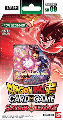 Dragon Ball Super - Series 7 Starter - Saiyan Legacy Starter Deck