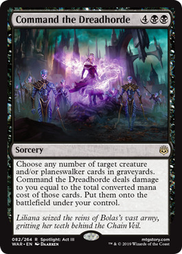 Command the Dreadhorde - Foil
