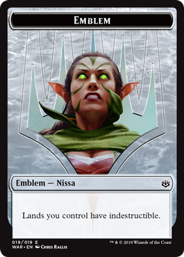 Emblem - Nissa, Who Shakes the World