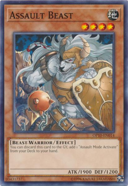 Assault Beast - OP10-EN014 - Common - Unlimited Edition