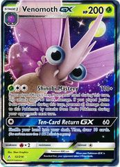 Venomoth GX - 12/214 - Ultra Rare on Channel Fireball