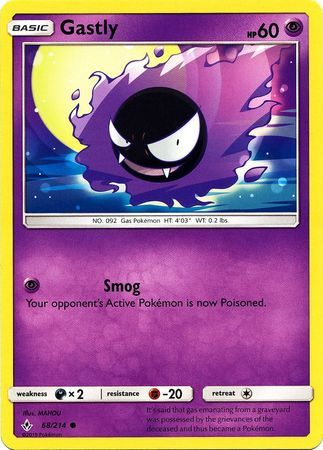 Gastly - 68/214 - Common