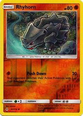 Rhyhorn - 92/214 - Common - Reverse Holo