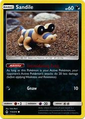 Sandile - 113/214 - Common - Reverse Holo