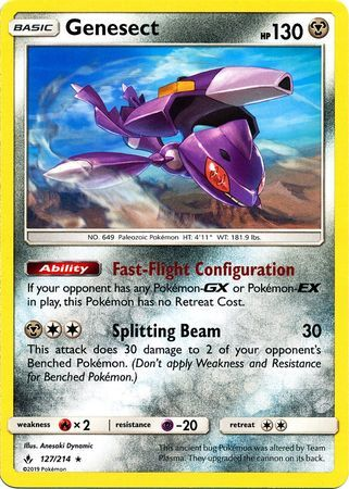 Genesect - 127/214 - Rare