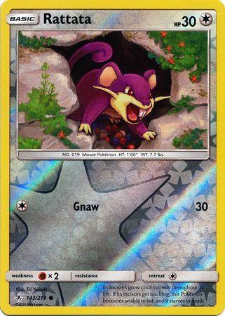 Rattata - 143/214 - Common - Reverse Holo