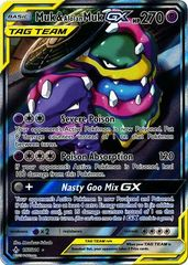 Muk & Alolan Muk Tag Team GX - 197/214 (Alternate Art) - Full Art Ultra Rare