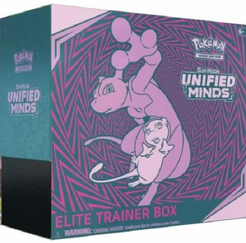Sun & Moon - Unified Minds Elite Trainer Box