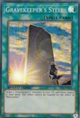 Gravekeeper's Stele - STP1-EN018 - Super Rare - Unlimited