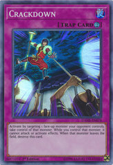 Crackdown - DANE-EN078 - Super Rare - 1st Edition on Channel Fireball