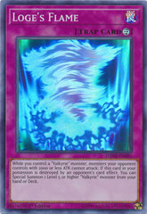 Loge's Flame - DANE-EN091 - Super Rare - 1st Edition