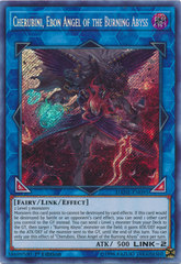 Cherubini, Ebon Angel of the Burning Abyss - DANE-EN095 - Secret Rare - 1st Edition