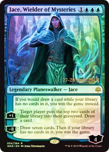 Jace, Wielder of Mysteries - Foil - Prerelease Promo