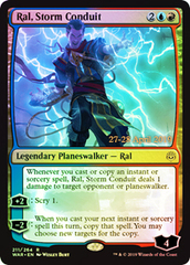 Ral, Storm Conduit - War of The Spark Foil