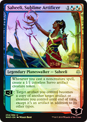 Saheeli, Sublime Artificer - Foil - Prerelease Promo