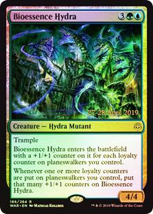 Bioessence Hydra - Foil - Prerelease Promo