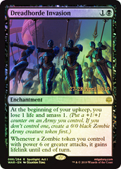 Dreadhorde Invasion (WAR Prerelease Foil)