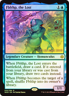 Fblthp, the Lost - Foil - Prerelease Promo