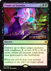 Finale of Eternity - Foil - Prerelease Promo