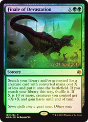 Finale of Devastation (WAR Prerelease Foil)