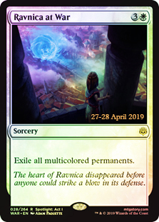 Ravnica at War - Foil - Prerelease Promo