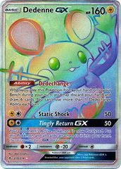 Dedenne GX - 219/214 - Secret Rare on Channel Fireball