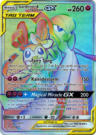 Gardevoir & Sylveon Tag Team GX - 225/214 - Secret Rare