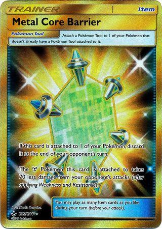 Metal Core Barrier - 232/214 - Secret Rare
