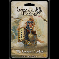 Legend of the Five Rings Lion Clan Pack: The Emperor's Legion
