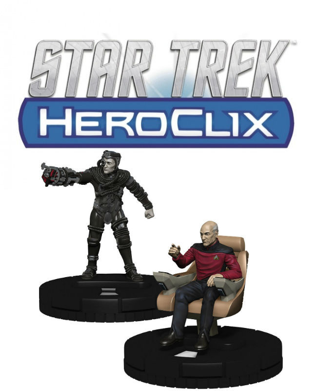 Star Trek HeroClix Away Team: The Next Generation - Resistance is Futile Gravity Feed