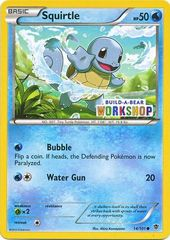 Squirtle - 14/101 - Build-a-Bear Promo